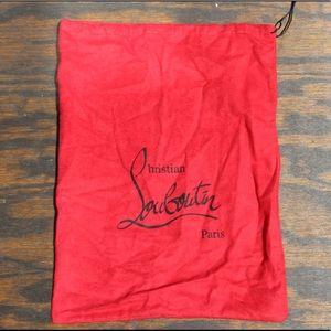 Christian Louboutin Dust bag!!